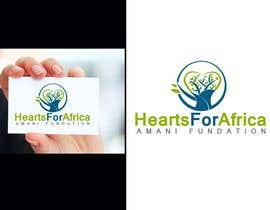 nº 9 pour Design a Logo for Hearts for Africa (Amani) foundation par alexandracol