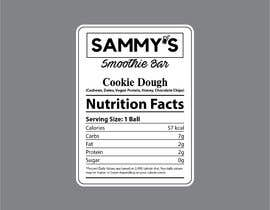 ajmal32150 tarafından Create a nutrition label için no 49