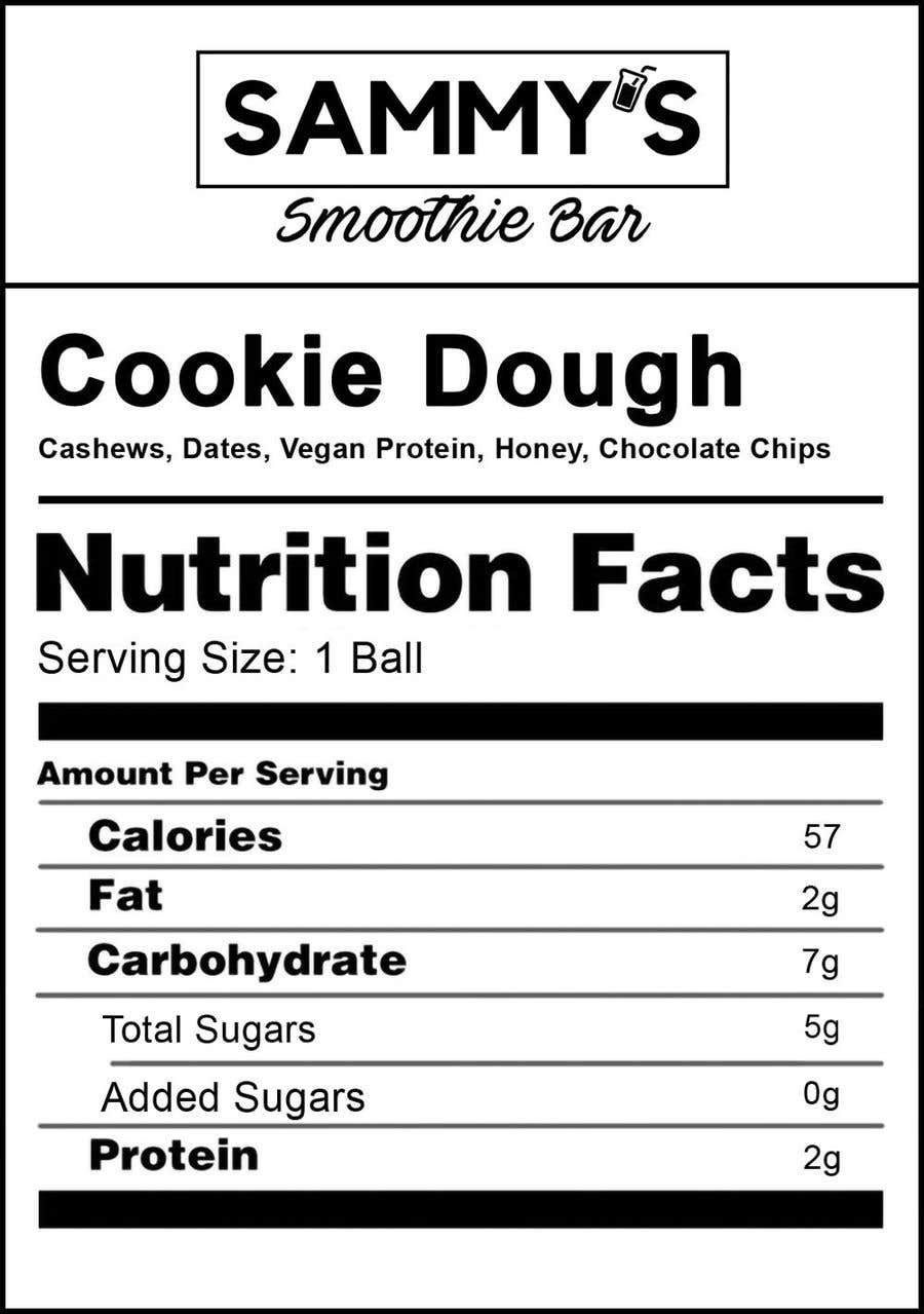 Bài tham dự cuộc thi #                                        21                                      cho                                         Create a nutrition label