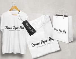 #125 for Brown Paper Bag Clothing Font af shekhfarid615