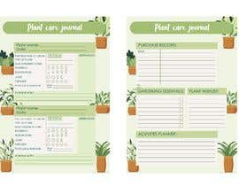 #2 for Design format for plant care journal/diary af tiaciasingh