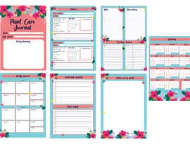 #6 for Design format for plant care journal/diary af tiaciasingh