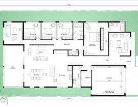#49 for Floor Plan Design - Single Storey Dwelling - Amazing - House Plan - Architecture by ilustrarq