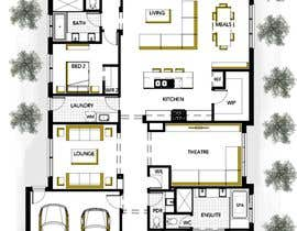 #24 for Floor Plan Design - Single Storey Dwelling - Amazing - House Plan - Architecture by SHUVOMOHANTO623