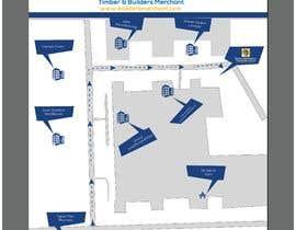 #5 for Design a Direction Poster Map for Business af joyantabanik8881
