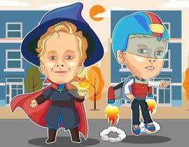#33 untuk Kids heroes oleh andybudhi