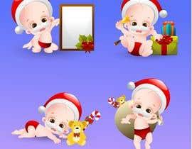 #10 cho we need a cartoon form of baby Santa bởi dinesh11580