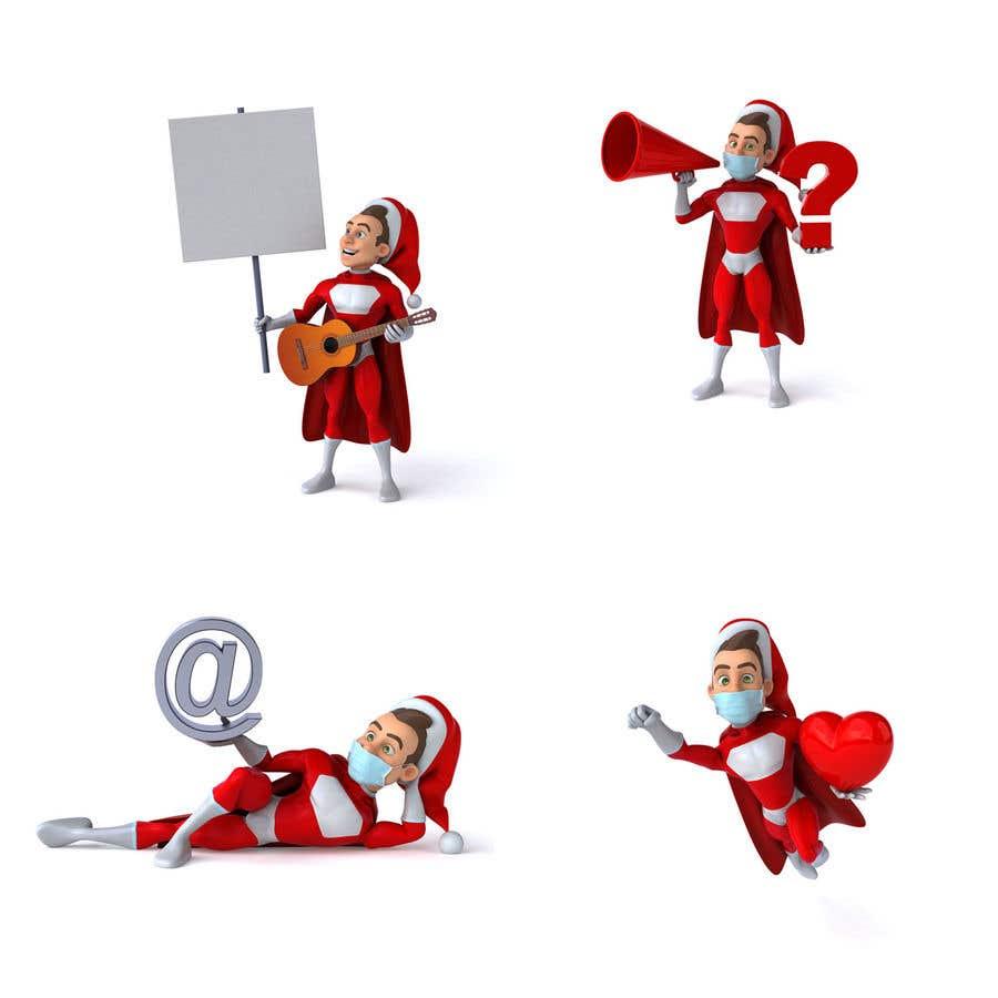 Bài tham dự cuộc thi #                                        6                                      cho                                         we need a cartoon form of baby Santa