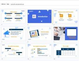 Nro 9 kilpailuun Build me a Google Slides Presentation template käyttäjältä rangga28