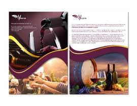 nº 21 pour Volantino A4 + motto per programma per vinicoltori par leonorfczpires19