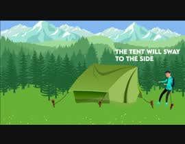 #46 untuk Swaying Tent Animation oleh badhusha73