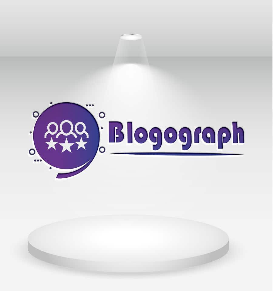 Penyertaan Peraduan #                                        21                                      untuk                                         Need a logo For my Blog Website