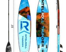 Nro 12 kilpailuun Paddleboard Design käyttäjältä fazel5333