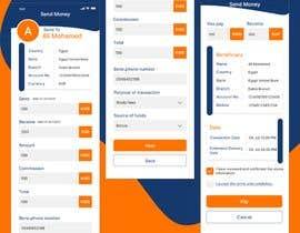 Nro 32 kilpailuun Design 2 pages for mobile app käyttäjältä SHAIMAAZAKOUT