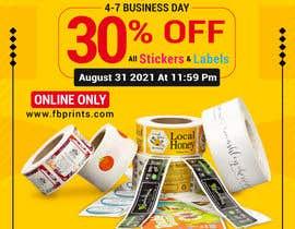 Nro 194 kilpailuun Social Media Sticker Discount Flyer -Gene käyttäjältä ahmedfarid6162
