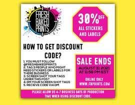 Nro 145 kilpailuun Social Media Sticker Discount Flyer -Gene käyttäjältä xussainrazaq333