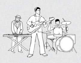 #13 for A simple illustration of a band by NadeemRoomi