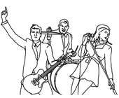 Illustrator Contest Entry #5 for A simple illustration of a band