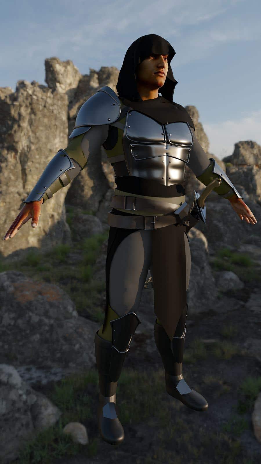 Penyertaan Peraduan #                                        51                                      untuk                                         Real 3D character