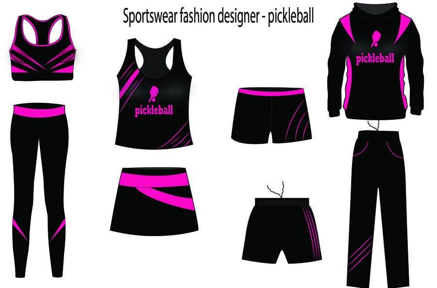 Bài tham dự cuộc thi #                                        73                                      cho                                         Sportswear fashion designer - pickleball