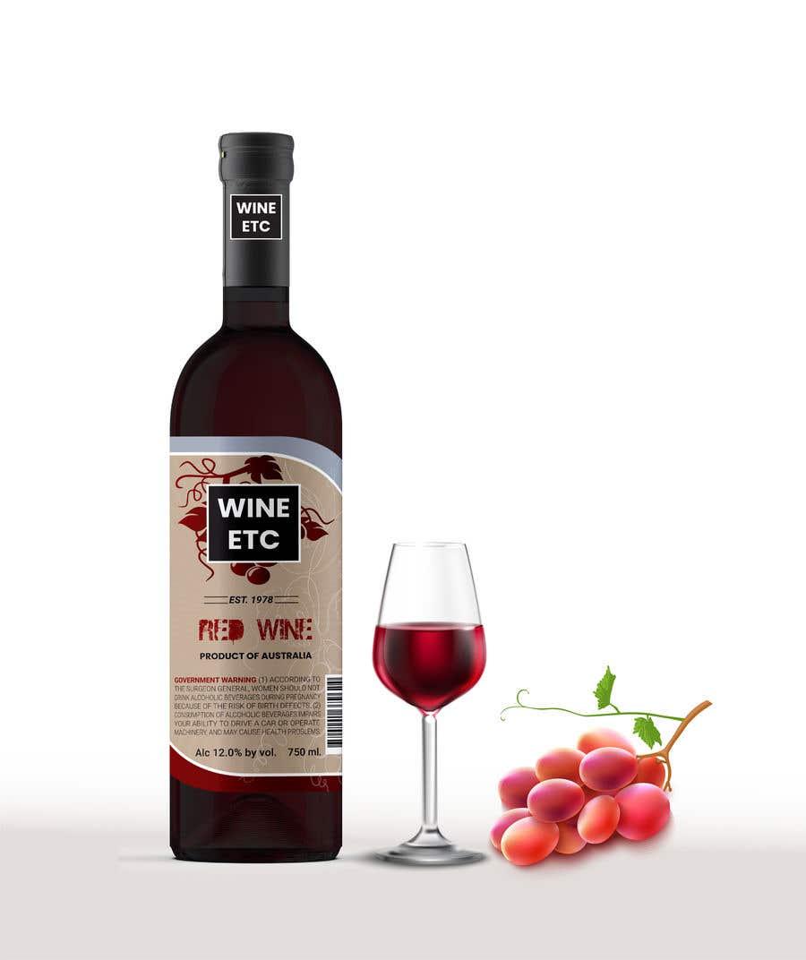 Proposition n°                                        86                                      du concours                                         Design a wine label series