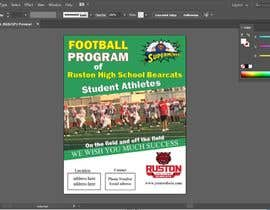 #55 for Create a Football program ad for our business by bestdesign9