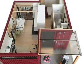 #7 for Design a Studio Flat made out of a Shipping Container af Nir0shan