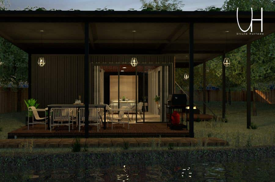 Proposition n°                                        22                                      du concours                                         Design a Studio Flat made out of a Shipping Container