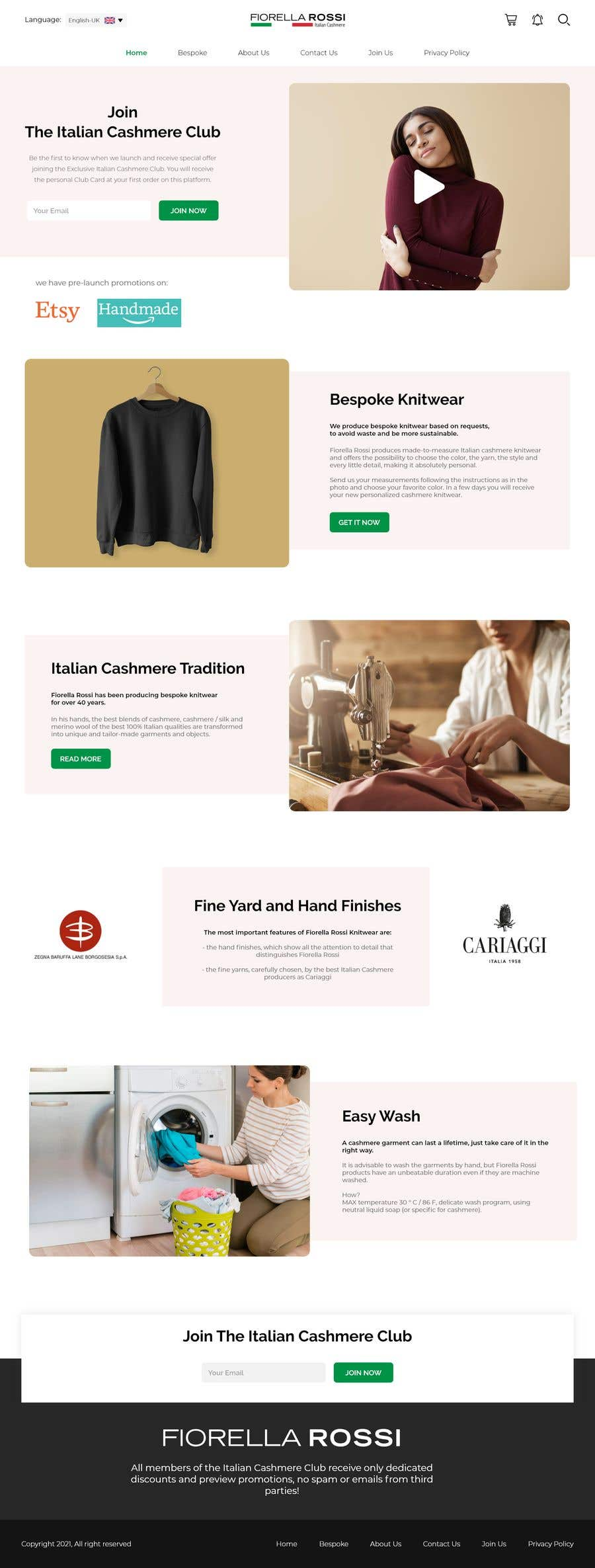 Конкурсная заявка №                                        35                                      для                                         Easy: just a Homepage design contest with Adobe XD