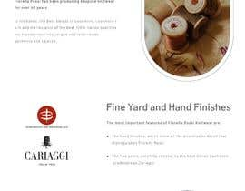 #29 untuk Easy: just a Homepage design contest with Adobe XD oleh tahanadeem62