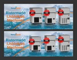 #54 para Website Banner (Ristormarkt Ice Cube Machines) por Jakaria76