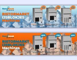 #65 para Website Banner (Ristormarkt Ice Cube Machines) por begummohima5456