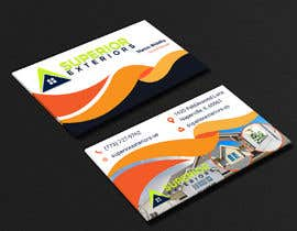 #628 for business cards for roofing company by shahriyarrubel