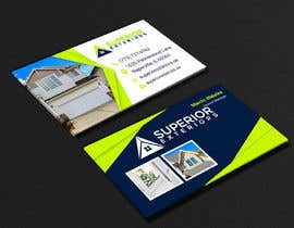 #633 for business cards for roofing company by shahriyarrubel
