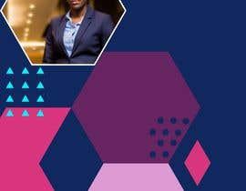 nº 1 pour Digital Course Cover Background Image  with Geometric Elements and My image par afrahaamer