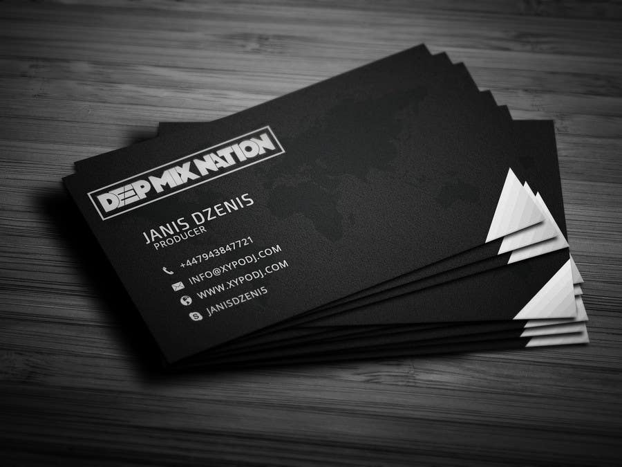 Contest Entry #36 for BUSINESS CARD DESIGN