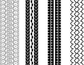 nº 23 pour Tire pattern design par AlShahryarRafi