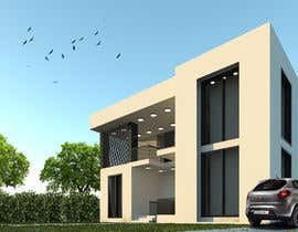 #15 for Design a minimalistic home exterior design as per the attached floor plan. af fneish1994sh16