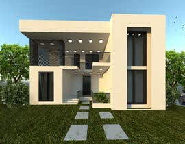 #16 for Design a minimalistic home exterior design as per the attached floor plan. af fneish1994sh16