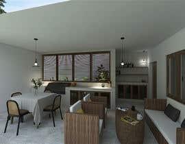 Nro 7 kilpailuun Building a covered terrace with room for office & bathroom + laundry & storage area käyttäjältä Shuhadh