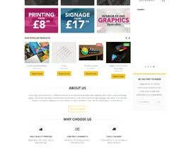 #4 for Wordpress front page theme with 3 inner pages. by faridahmed97x