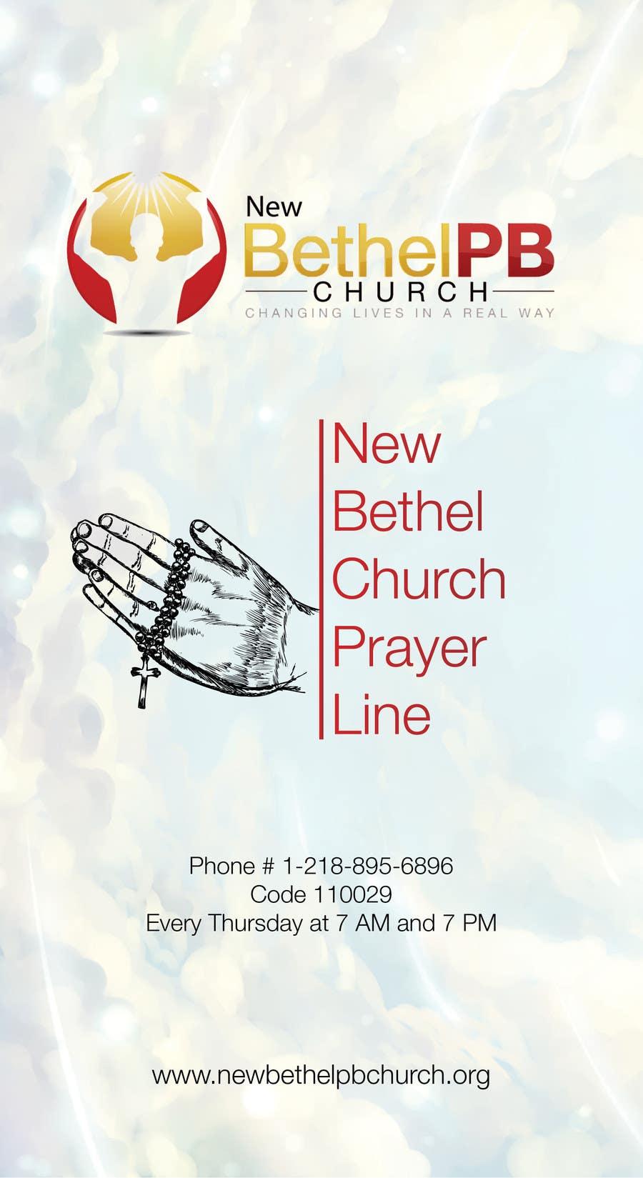 Konkurrenceindlæg #3 for Prayer Line Flyer