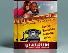 #7 for Prayer Line Flyer by gkhaus
