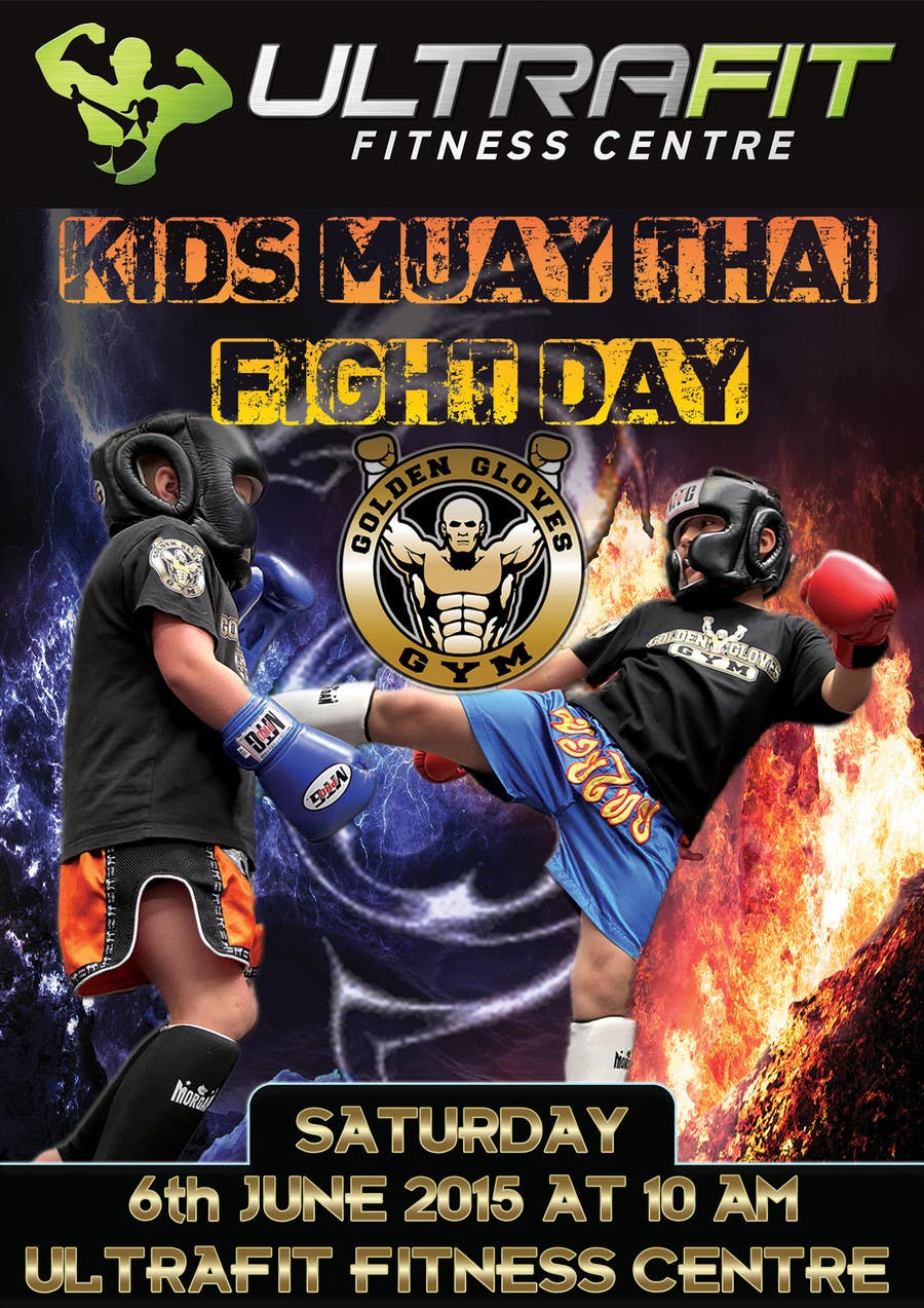 Contest Entry #                                        19                                      for                                         Design a Flyer for KIDS FIGHT DAY
