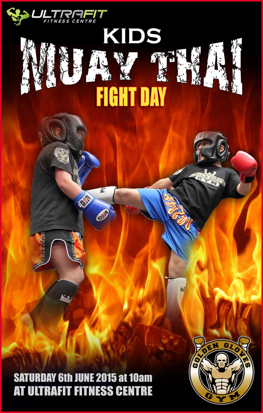 Contest Entry #                                        24                                      for                                         Design a Flyer for KIDS FIGHT DAY