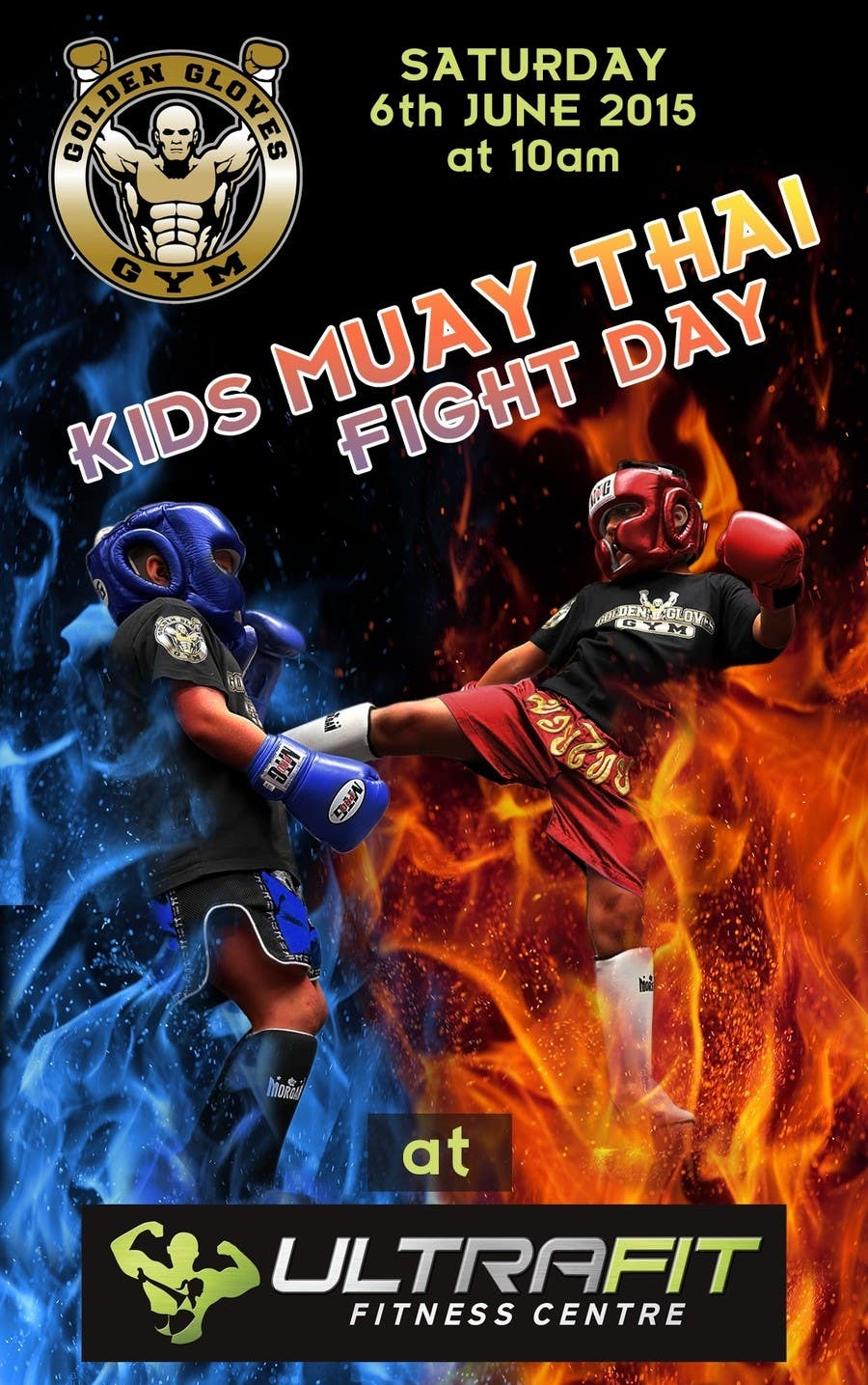 Contest Entry #                                        16                                      for                                         Design a Flyer for KIDS FIGHT DAY
