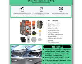 nº 12 pour Headlight Restoration kit par fatimaC09