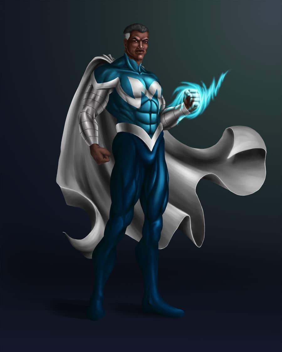 Inscrição nº                                         19                                      do Concurso para                                         Recreate 3 Superheroes - High Quality Photoshop or Illustrator Art