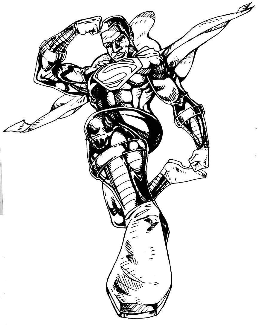 Inscrição nº                                         12                                      do Concurso para                                         Recreate 3 Superheroes - High Quality Photoshop or Illustrator Art