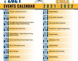 nº 84 pour Design a calendar flyer par starworldbd